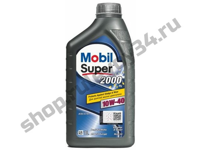 MOBIL Super 2000 X1 10W-40  Масло моторное